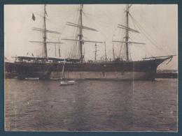Lot De 3 Photos à Identifier Navire Bateau De Guerre Voilier Sailor 8 X 11 Cm - Schiffe