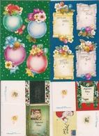 Lot De 2 Planches De 8 Autocollants   Et 4 Petites Cartes Cadeaux  -  Thème  NOËL - Kerstmis