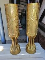 12 Magnifique Vase ARTISANAT DES TRANCHEES Douilles Ciseler Par Les Poilus   Oiseaux POUR DECO Loft Regarder ETSY - 1914-18