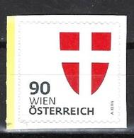 Österreich 2018, Nr. 3411, Heraldik, Wien, Postfrisch Mnh ** - 2011-... Nuovi & Linguelle