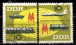 DDR+ 1963 Mi 976-77 Herbstmesse - Gebraucht