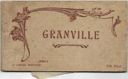 50. GRANVILLE. TRES BEAU CARNET DE 12 CARTES ANCIENNES - Granville