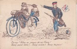 Courons Volons Au Secours De Nos Frères Moto Motard - Patriotiques