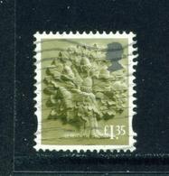 ENGLAND  -  2003 Oak Tree White Border £1.35 Used As Scan - Engeland
