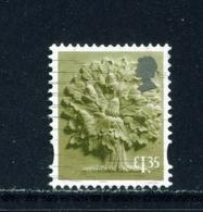 ENGLAND  -  2003 Oak Tree White Border £1.35 Used As Scan - Regionalmarken