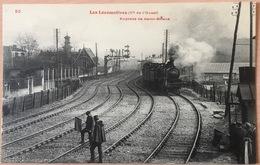 Express De St Brieuc 22 - ** Belle Cpa ** Ed Voir Bas Droite** N°50 ( Non Circulée ) - Trains