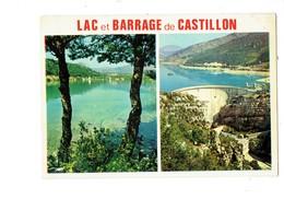 Cpm - 04 - Barrage DE CASTILLON - Entre Castellane Et St André - Installation Hydro électrique Sur Le Verdon - 1975 - - Sonstige Gemeinden