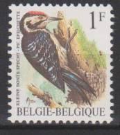Belgique N° 2349 P6 *** Oiseaux-Buzin - Pic épeichette - 1990 - 1985-.. Birds (Buzin)
