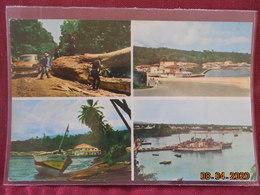 CPM - Santa Isabel Y San Carlos Fernando Poo - Multi Vues - Equatorial Guinea