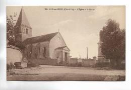 21 - NOD-sur-SEINE ( Côte-d' Or ) - L' Eglise Et La Mairie - France