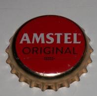 CAPSULE DE LE  BIÉRE  AMSTEL - Bière