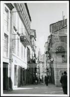 50s ORIGINAL AMATEUR PHOTO FOTO CALLE SANTIAGO COMPOSTELA CORUNA GALICIA ESPANA SPAIN  BT78 - Orte