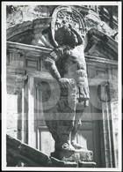 50s ORIGINAL AMATEUR PHOTO FOTO STATUE SANTIAGO COMPOSTELA CORUNA GALICIA ESPANA SPAIN  BT79 - Orte