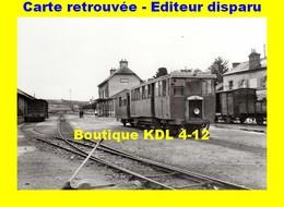 BVA 802-08 - Autorail KG En Gare - TREGUIER - Côtes D'Armor - CdN - Tréguier