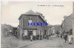 Le Houlme La Rue De L'eglise - Other Municipalities
