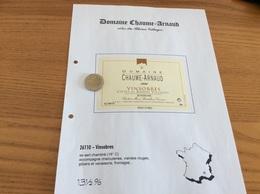 Étiquette Vin 1999 «Côtes Du Rhône Villages - VINSOBRES - DOMAINE CHAUME-ARNAUD - Vinsobres (26)» - Côtes Du Rhône