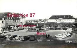 23 ☺♦♦ GUERET - PLACE BONNYAUD < TRACTION CITROEN 2CV + PANHARD + RENAULT 4 CV + PEUGEOT 203 - N° 96-16  THEOJAC (9x14) - Guéret
