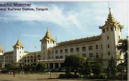Rangun. Yangon. Central Railway Station - Myanmar (Burma)