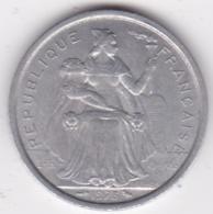 Polynésie Francaise . 2 Francs 1973, En Aluminium - Polynésie Française
