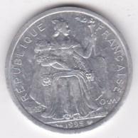 Polynésie Francaise . 2 Francs 1995, En Aluminium - Polynésie Française