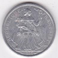 Polynésie Francaise . 2 Francs 1996, En Aluminium - Polynésie Française