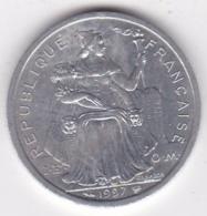 Polynésie Francaise . 2 Francs 1997, En Aluminium - Polynésie Française