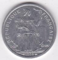 Polynésie Francaise . 2 Francs 1998, En Aluminium - Polynésie Française