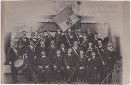 01. Carte-photo. CHATILLON-SUR-CHALARONNE. Amicale 1911 - Châtillon-sur-Chalaronne