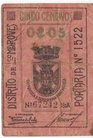 Mozambique , Camara Municipal Lourenço Marques , 1920 Decade , Emergency Money , Argent D'urgence , Cedula , Notgeld - Moçambique
