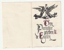 Doodsprentje Anna-Marguerite DEMEYERE Echtg. Robert Achiel Volckaert Rekkem 1904 Menen 1959 - Images Religieuses