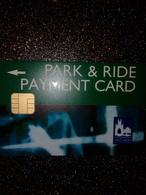 GB UK CARTE A PUCE CHIP CARD STATIONNEMENT PARKING CANTERBURY NEUVE MINT - France
