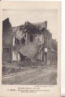 BOHAIN - Rue De La Gare - Dégâts Causés Par Explosion D'une Mine Allemande - GUERRE 14/18 - Francia