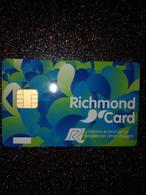 GB UK CARTE A PUCE CHIP CARD STATIONNEMENT PARKING RICHMOND NEUVE MINT - France