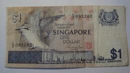 BILLET SINGAPOUR 1 DOLLAR 1976 - Singapore