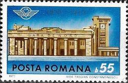 1972 - CENTENARY OF NORTH RAILWAY STATION BUCHAREST - Ungebraucht