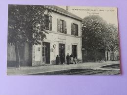 Demangevelle Vauvillers La Gare Vue Intérieure Haute Saône Franche Comté - France