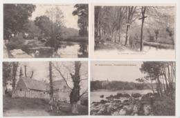 27684 Lot 8 Cartes Postales PONT AVEN Moulin Neuf Grande Place Hotels Meunier Meuniere Riviere Chapelle Min-route Bois - Pont Aven