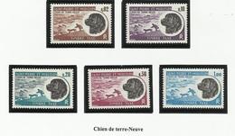 SAINT PIERRE ET MIQUELON SPM TAXE N° 77 à 81 Neufs Sans Charnière ** 1973 Chien - Postage Due