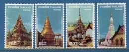 Thaïlande - YT N° 862 à 865 - Neuf Sans Charnière - 1978 - Thaïlande
