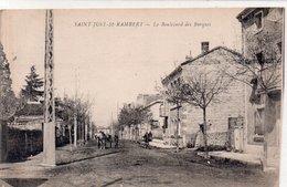 """SAINT JUST SUR LOIRE """" Le Boulevard Des Barques"""" - Saint Just Saint Rambert"""