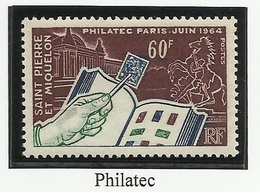 SAINT PIERRE ET MIQUELON SPM N° 371 ** Neuf 1964 - Ongebruikt