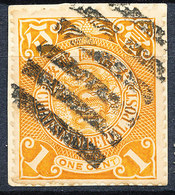 Stamp China 1898-1900 Coil Dragon 1c Used Lot28 - Oblitérés