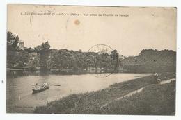 AUVERS SUR OISE Vue Prise Du Chemin De Halage - Auvers Sur Oise