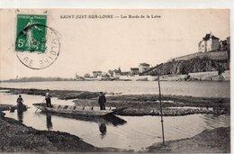 """SAINT JUST SUR LOIRE """"Les Bords De La Loire"""" - Saint Just Saint Rambert"""