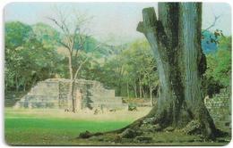 Honduras - Hondutel - Maya Temple, 250U, 1HONEPB (Big Serial), Used - Honduras