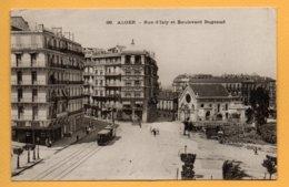 Alger - Rue D'Isly Et Boulevard Bugeaud - Ohne Zuordnung