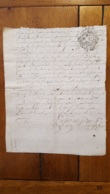 GENERALITE 1730  MOULINS 10 DENIERS - Gebührenstempel, Impoststempel