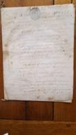 GENERALITE 1783 TOURS  23 SOLS 4 DENIERS - Matasellos Generales