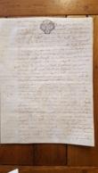 GENERALITE 1779 MONTAUBAN  20 SOLS - Gebührenstempel, Impoststempel