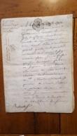 GENERALITE 1753 PARIS  20 SOLS - Gebührenstempel, Impoststempel
